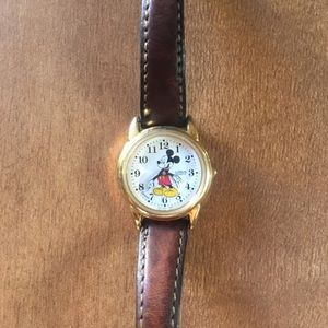Vintage Mickey Mouse watch by LORUS